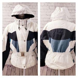 Sunice vintage ski jacket. Size 10. White.